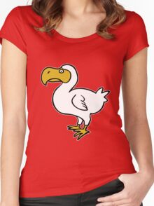 dodo maurice réunion Women's Fitted Scoop T-Shirt