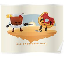 Old Fashioned Duel Poster