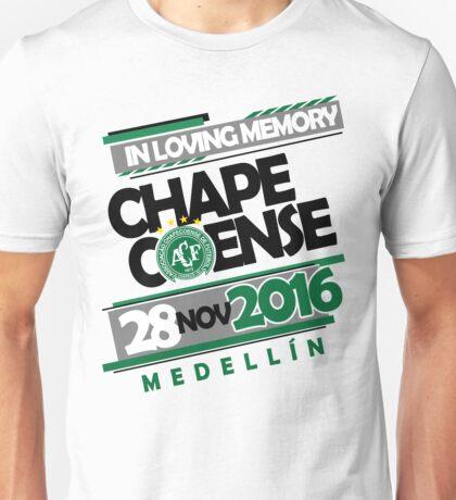 Chapecoense In Loving memory Unisex T-Shirt
