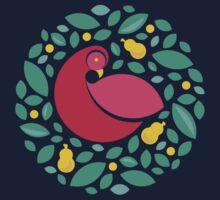 Partridge in a Pear Tree Kids Tee