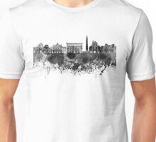 Bari skyline in black watercolor Unisex T-Shirt
