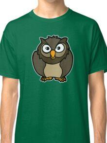 hibou chouette owl Classic T-Shirt