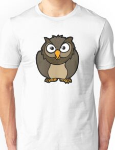 hibou chouette owl Unisex T-Shirt