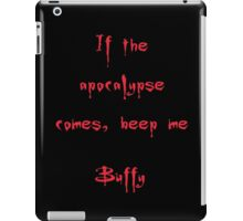 Buffy the Vampire Slayer, Buffy Summers, Angel, Willow, Spike, Sunnydale iPad Case/Skin