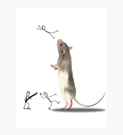 MOUSE WARS Photographic Print