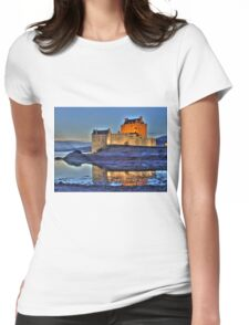 Eilean Donan Castle 31456 Womens Fitted T-Shirt