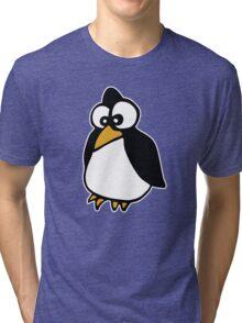 pingouin Penguin linux cartoon Tri-blend T-Shirt