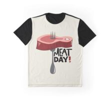 Meat Day Graphic T-Shirt