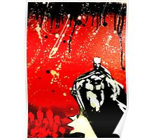 Dark Knight, Red Night Poster