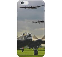 3 Lancasters - East Kirkby  iPhone Case/Skin