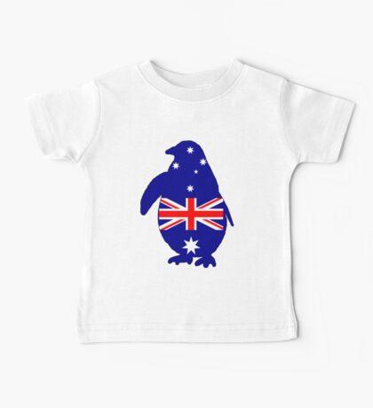 Australian Flag - Penguin Baby Tee