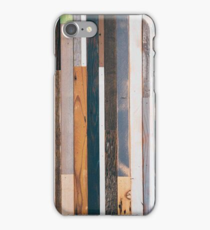 Reclaimed Wood  iPhone Case/Skin