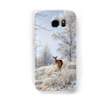 Glen Shiel Misty Winter Deer Samsung Galaxy Case/Skin