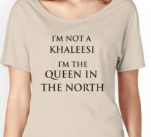 QUEEN IN THE NORTH 2 Women's Relaxed Fit T-Shirt