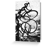 Vélo à L'envers Greeting Card
