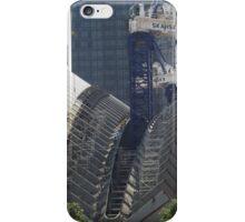 New World Trade Center Transit Hub Takes Form, Santiago Calatrava, Architect, Lower Manhattan, New York City iPhone Case/Skin