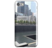 9/11 Memorial, Lower Manhattan, New York City iPhone Case/Skin