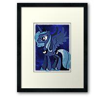 Cosmic Princess Luna (Version 2/4) Framed Print