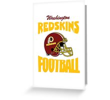 washington redskins football Greeting Card