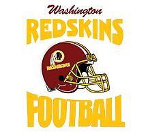 washington redskins football Photographic Print