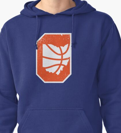 Cleveland Ohio Basketball Vintage Pullover Hoodie