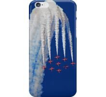 Diamond Arrival Loop - The Red Arrows Farnborough 2014 iPhone Case/Skin