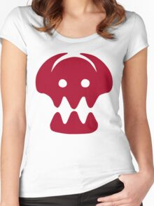 HTTYD Skull  Women's Fitted Scoop T-Shirt