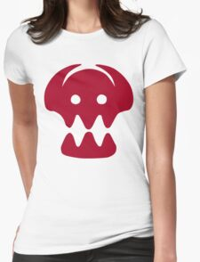 HTTYD Skull  Womens Fitted T-Shirt