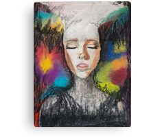 Abstract Portrait Canvas Print