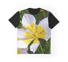 White and Yellow Daffodils Graphic T-Shirt