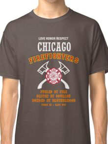 CHICAGO FIREFIGHTERS Classic T-Shirt