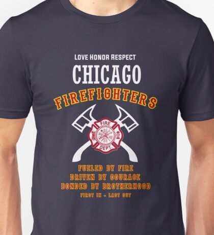 CHICAGO FIREFIGHTERS Unisex T-Shirt