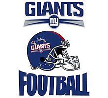 giants new york football Photographic Print