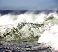 Rough Seas by janewiebenga