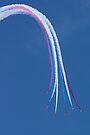 Parasol Break - The Red Arrows Farnborough 2014 by Colin  Williams Photography