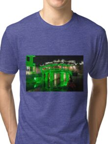Hoi An Vietnam Japanese covered bridge (Cau Nhat Ban)  Tri-blend T-Shirt