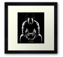 Quiet times to reflect Framed Print