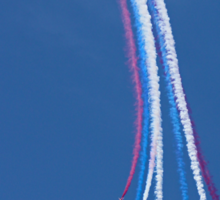 Parasol Break - The Red Arrows Farnborough 2014 Sticker