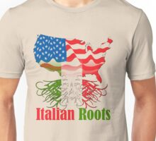 Italy - USA - American with Italian Roots Unisex T-Shirt