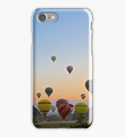 Hot air Balloons Sunset iPhone Case/Skin