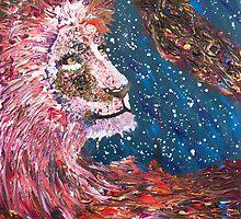 Lion by kelseyfritsch