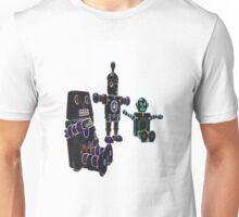 glow toy robots Unisex T-Shirt