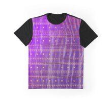 Gold Purple Tribal Pattern  Graphic T-Shirt