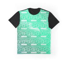Green Tribal Pattern  Graphic T-Shirt