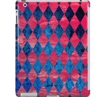 Blue Red Tribal Pattern iPad Case/Skin