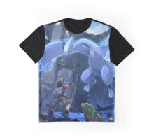 Lugia Pokemon Plata y Oro Graphic T-Shirt