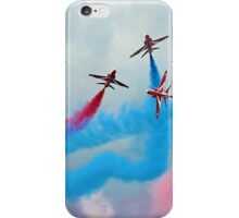 The Red Arrows Gypo Break - Dunsfold 2014 iPhone Case/Skin