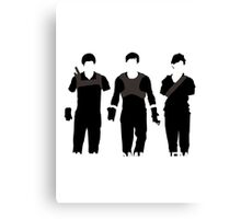 Newt Minho And Tommy Canvas Print