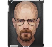 Walter White - Portrait - Low Poly iPad Case/Skin