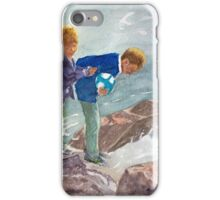 Wet feet by John Rees iPhone Case/Skin